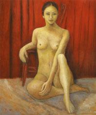 裸 婦 (2008) ( 油彩 )