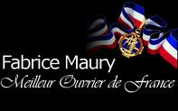 Fabrice Maury, Meilleur Ouvrier de France