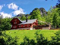 Rifugio Hütte Zacchi, Julische Alpen, Weissenfelser Seen