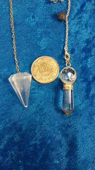 Pendel Bergkristall