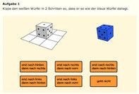 Würfel, Mathe, Rechnen, Raum, Orientierung, Geometrie