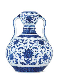 'Double-gourd' vase (Qing dynasty)
