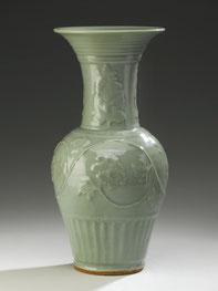 Fengwei zun; Yenyen vase (Longquan ware, Yuan dynasty)