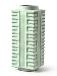 Cong; 'Cong-shaped' vase (Longquan ware, Song dynasty)