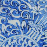 Wanli Blue And White Dish