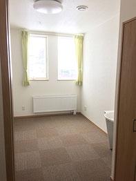 床暖完備の個室