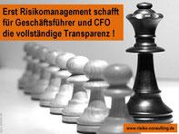 Risiko-Consulting - Risikomanagement sorgt im Mittelstand für Transparenz