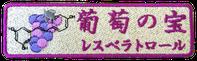 葡萄の宝(レスベラトロール)
