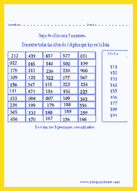 divertidas actividades con sopas de números