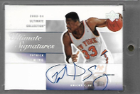 PATRICK EWING / Ultimate Signatures - No. PE-A
