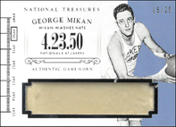 GEORGE MIKAN / Timeline - No. T-GM  (#d 15/25)