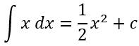 Beispiel für die Integration einer linearen Funktion