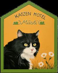 Katzenhotel Müsli