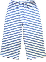 blau, geringelte Hose für Kinder, faire Mode, Herzkind, Berlin
