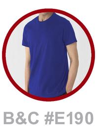 T-Shirt B&C #E190 bedrucken