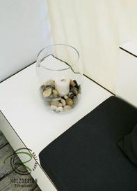 Sitzlounge mit integriertem Tisch-Ablage