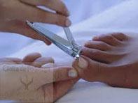 Corte correcto de las uñas
