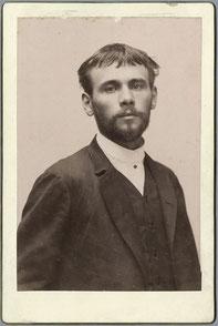 ※3:1887年ころのクリムト。