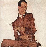 「アーサー・ロエスラーの肖像」(1910年)