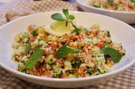 Couscous Salat vegetarisch und vegan