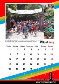 Kalenderblatt - Januar 2019
