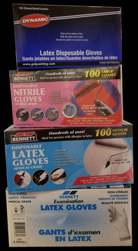 Nitrile & Latex Disposable Gloves