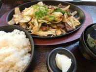焼肉定食 1000円