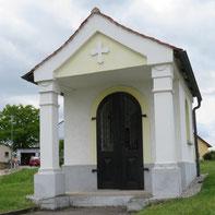 Die Kapelle aus Gonnersdorf im Mai 2019