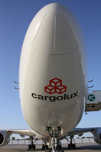 Cargolux's Jumbo freighters transported 890,000 tons last year, an all-time record for the company  -  source: hs