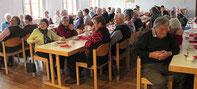 Viele Senioren folgten der Einladung.