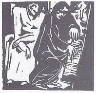 Aloys Wach: Klavierspieler (Paris 1914)