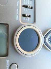 Sensor circular: margen de detección estrecho