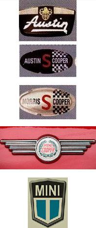 Primeros logotipos Mini
