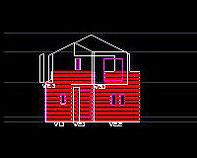 CADデータイメージ|一般戸建住宅