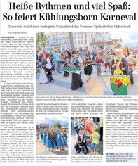 OZ - Ostsee-Zeitung Bad Doberan vom 27.07.2015