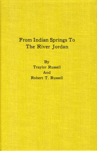 Cover of From Indian Springs to the River Jordan