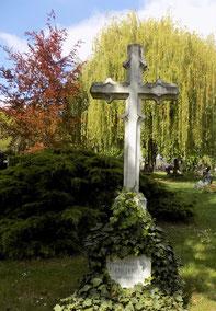Oehme-Grabmal auf dem Alten Annenfriedhof in Dresden Bild: Susann Wuschko