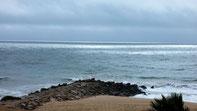 ... heute Wolken und Wellen an der Küste
