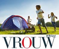 Imago en etiquette specialist Gonnie Klein Rouweler, VROUW.nl Telegraaf etiquettetips camping