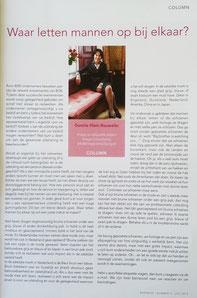 Imago en etiquette specialist Gonnie Klein Rouweler, Columnist Business Ontmoet Business, Waar letten mannen op bij elkaar?