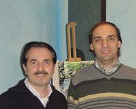 Con Vittorio Simonini