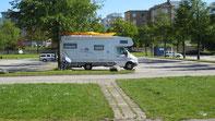 Stellplatz in Malmö - kostenlos!