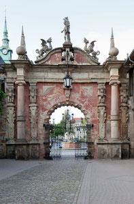 Schloss Bückeburg, äußeres Portal