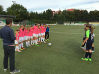 U13-Juniorinnen in Kray. - Foto: cbra.