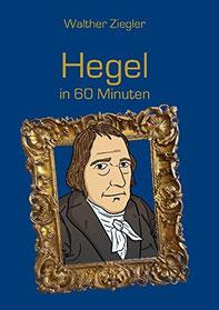 Hegel; Bild von Friedrich Willhelm Hegel; Comiczeichnung von Hegel; Buchcover von Buch über Hegel