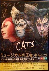 劇団四季 キャッツ CATS 静岡公演 2003 市民文化会館