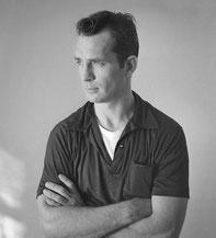 Der Posterboy der Beat Generation: Jack Karouac 1956 (Foto: Tom Palumbo)