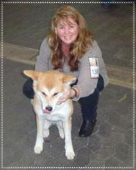 Japan Akita, Umeko of Kishi Ken, Hund, Ausstellung, Hundeausstellung, Zucht, Hundezucht, Nationale Rassehunde Ausstellung Kassel