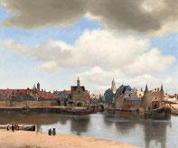 Ansicht von Delft - Vermeer