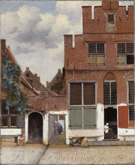 Strasse in Delft - Vermeer